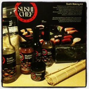 Sushi kit from Sushi Chef