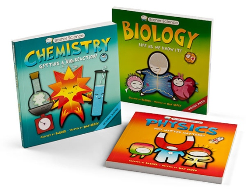 Basher Science Books